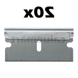 10-100pc Razor Blades Single Edge Extra Sharp Heat Treated S