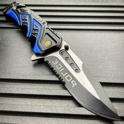 "10"" HUGE CLEAVER BALL BEARING Assisted Pocket Folding Knife"