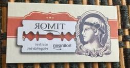 5 Timor Double Edge Razor Blades. One Of The Finest  German