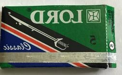 LORD Green Box Classic Super Stainless razor blades