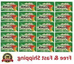 100 Gillette 7 'clock Double Edge Razor Blades Classic Safet