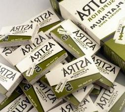 100 pcs X Astra Superior Platinum Double Edge Safety Razor B