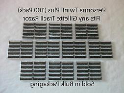 100 Razor Blades That Fit Contour Atra Razors