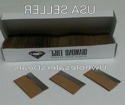 100 Single Edge Razor Blades Box Cutter Scraper Tool Sharp N