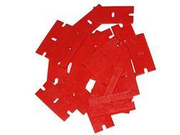 100 Single Edge Plastic Razor Blades