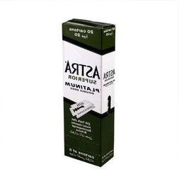 Astra 100 Superior Premium Platinum Double Edge Safety Razor
