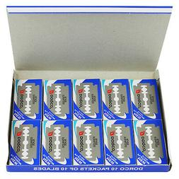1000 Dorco Double Edge Razor Blades Platinum Plus - FREE Pri