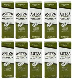 1000 pcs Astra Superior Platinum Double Edge Shaving Razor B