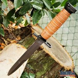 "11 3/4"" WWII M3 FIGHTING BAYONET ARMY KNIFE Tactical Hunting"