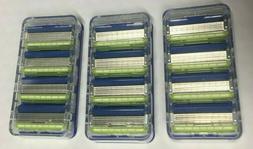 12 pc Schick Hydro 5 Sense Sensitive Refill Razor Blade Cart