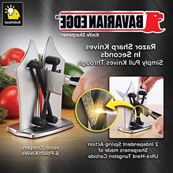 Official As Seen On TV Bavarian Edge Kitchen Knife Sharpener