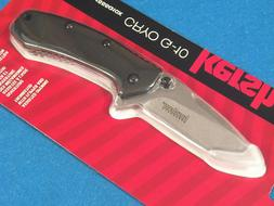 "Kershaw Cryo G-10 Pocket Knife  2.75"" Stonewashed Stainles"