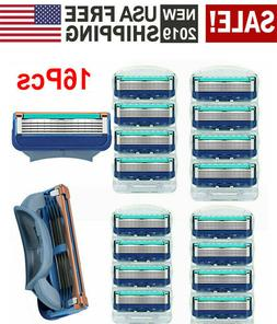 16Pcs Men Razor Blades for G1llette MACH 3 Shaver Shaving Ca