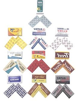 20 Double Edge Razor Blades Sample Pack