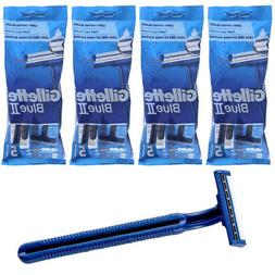 20 Gillette Disposable Razors Blue 2 Twin Blade Ultra Grip H