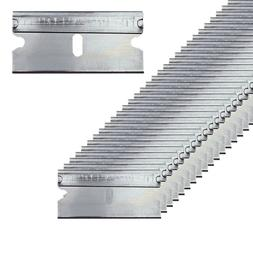 100pc Razor Blades Single Edge Extra Sharp Heat Treated Safe