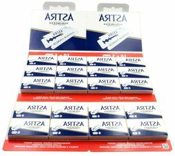 200 Astra Superior Stainless Double Edge Blades - FAST Shipp
