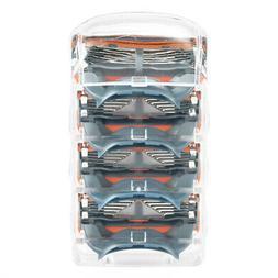 20pcs 5-layers Men's Razor Blades Refills for Fusion Orange