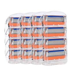 20pcs 5-layers Men's Razor Blade Refills 16 Cartridges Repla