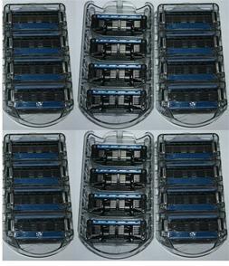 24 Refills Fit Schick Quattro Titanium Trimmer Personna Razo