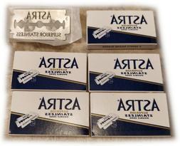 25x ASTRA Superior Stainless Dbl Edge Razor Blades - Sharper