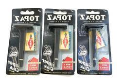 3 Disposable Razors 15 Double Edge Safety Shaving Razor Blad
