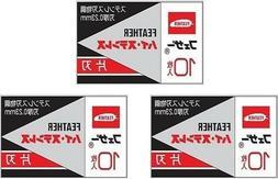 30 Feather FHS-10 Hi-Stainless Razor Blades