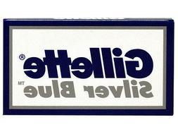 20 Gillette Silver Blue Double Edge Razor Blades