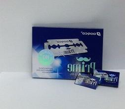 300 Dorco Prime Platinum Double Edge Razor Blades-BRAND NEW-