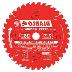 38-Teeth Circular Saw Blade,Carbide Tip DIABLO D0738FM