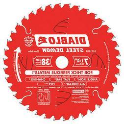 38-Teeth Circular Saw Blade,Carbide Tip DIABLO D0738FM