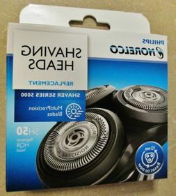 3xShaver Razor Replacement Blades SH50/52 for Philips Norelc
