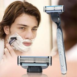 4 PCs/set 3 layers of razor blades for Mach 3 beauty Proglid