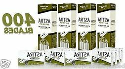 400 ASTRA Superior Platinum Double Edge Shaving Safety Razor