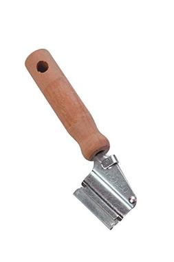 Warner Razor Knife with 1 Blade, Wood Handle, 490