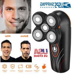 4D Electric Shaver Razor 5 Heads Mens Floating Shaving Hair