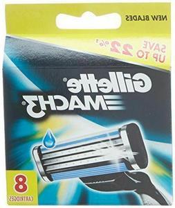 4pc 3 Blades For Gillette MACH 3 Razor Shaving Shaver Trimme