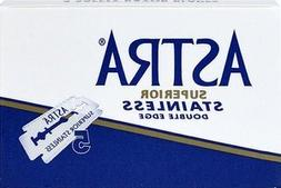 5 ASTRA Superior Stainless razor blades