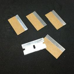 5pc Razor Blades Single Edge Extra Sharp Heat Treated Safety