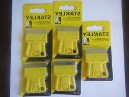 5x NEW Stanley Mini-Razor Blade Scrapers 28-100 - Free Shi