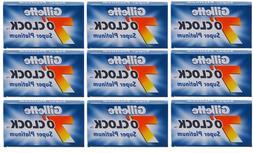 Gillette 7 O'Clock Super Platinum Double Edge Razor Blades -