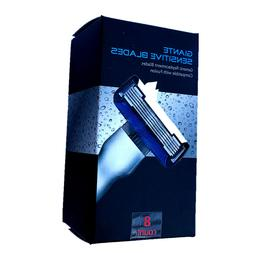 8 Count Giante High Quality 5 Layers Replacement Razor Blade
