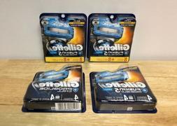 8 New Gillette Fusion 5 Proshield Chill Razor Blades Cartrid