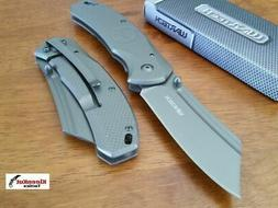 """8"""" TACTICAL Punisher Gray Spring Assisted Open Pocket Knife"""