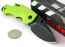 "Kershaw Shuffle Lime  Multifunction Pocket Knife; 2.4"" Bla"