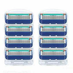 8PCS For Gillette FUSION Proglide POWER Replacement Razor Bl