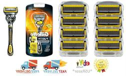 9 Gillette Fusion Proshield Razor Blades 8 Refill Cartridges