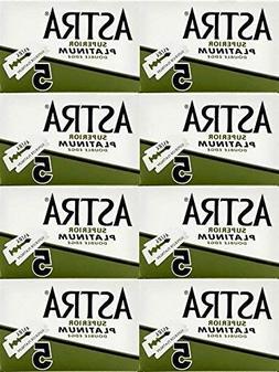 Astra Superior Platinum Double Edge Safety Razor Blades, 40