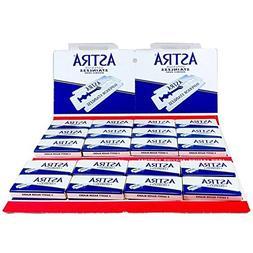 Astra Superior Stainless Double Edge Safety Razor Blades, 10