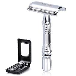 BAILI Classic Barber Double Edge Blade Shaving Safety Razor